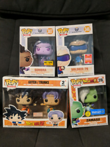 Selling various Dragonball and Overwatch Funko Pops!