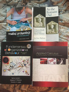 Mohawk College/Brock University Used Textbooks.