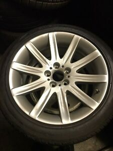BMW 750 brand new OEM wheel and tire