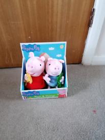 Peppa and George pig