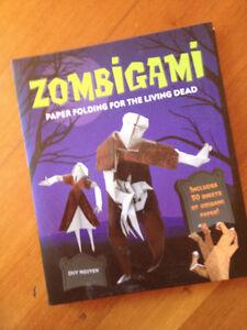 zombi oragami book