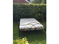 Double bed hardly used