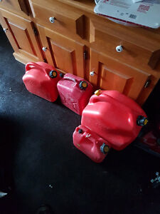 4 Gas cans for sale