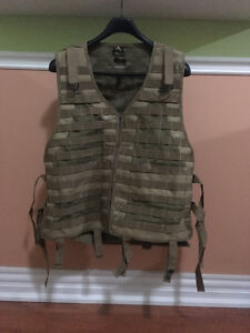 Tactical vest Paintball \ Airsoft Sand and Green L \ XL