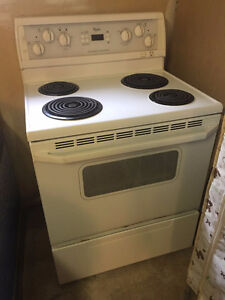 stove and refrigerator good work