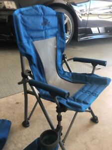 KIDS CAMPING CHAIR WITH SECURITY LOCK