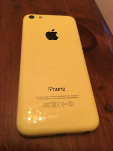 iPhone 5C YELLOW- 16 G EXCELLENT CONDITION