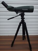 spotting scope telescope or camera lens