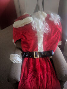 Santa suit. Very gently worn 1 time.