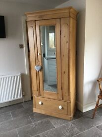 Antique Victorian Pin Wardrobe -CAN DELIVER LOCALLY