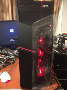 i5-2500 Gaming PC, Work Computer, 12GB RAM, 480GB SSD + RX 570