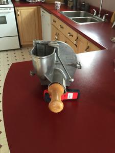 Mixer Attachment - Slicer head