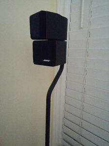BOSE AM-7 ACOUSTIMASS Speakers and BOSE FS-6 FLOORSTANDS   PLEAS Kitchener / Waterloo Kitchener Area image 2