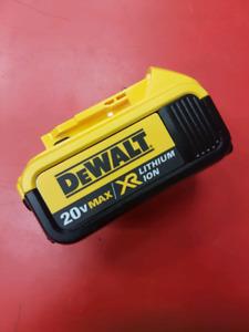 Batterie Dewalt 20 v XR