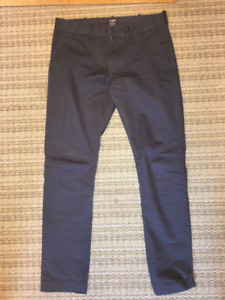 Men's NEW J.Crew Chino Pants - Navy SIZE 30x30