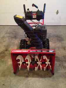 "Troy Built 28"" Gas Powered Snow Blower"