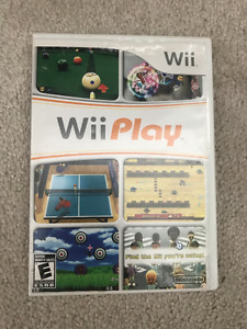 WII GAME- WII PLAY