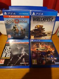 4 *PlayStation 4 games*