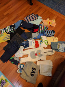 Size 3 - 12 month boy's clothes lot
