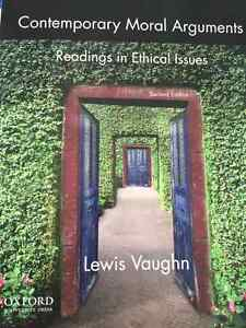 Contemporary moral arguments: readings in ethical issues 2nd ed London Ontario image 1