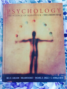 Psychology: The Science of Behavior (3rd CDN ed.)