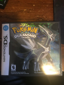 Pokemon Diamond. Great condition with both package and manual