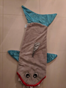 Shark and mermaid tail Snuggies for youth 3-7