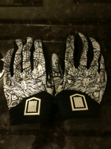 Icon motorcycle gloves (Large)