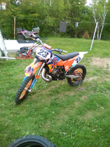 2010 KTM 250SX For sale of trade