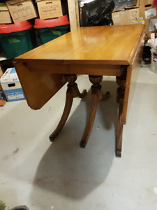 Vintage maple dining table