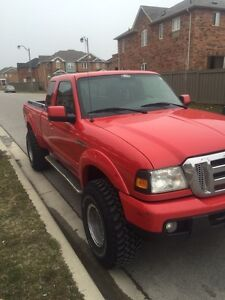 LIFTED 2007 FORD RANGER SPORT 4x4