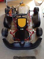 Kart châssis 32mm moteur Honda GX200 4 temps open CKAS