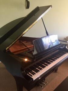 PIANO DEMI QUEUE NOIR