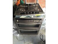 NEFF double electric oven and gas hob