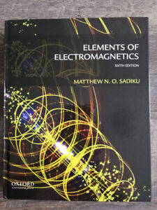 Electrical Engineering textbook for sale ECED3300ECED3301