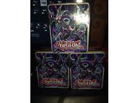 Yugioh tins 1000+ cards per tin