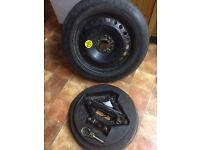 Ford 5x108 Spare Wheel & Toolkit (spacesaver)
