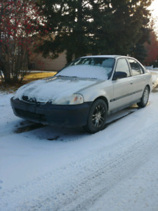 2001 Honda Civic. Doesn't run