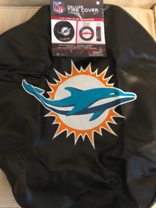 Tire Cover- NFL Miami Dolphins