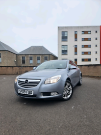 09 vauxhall insignia 1.8i exclusive 5dr. July 22 mot, low 86k& history