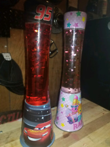 Cars 3 and shopkins lava lamp. 50 for both