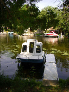 16 foot dock with composite decking