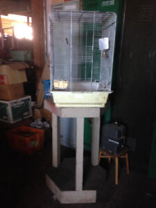 Bird Cage & Stand $20 - also good for movie prop !