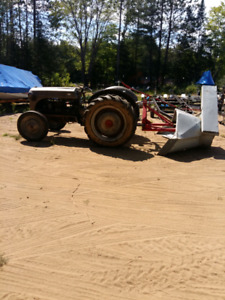 Ford 9n tractor with blower 2500 or trade