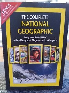 Every National Geographic Magazine to 2010 on CD-ROM- $10 OBO