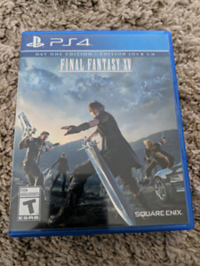 FFXV and Fifa 14