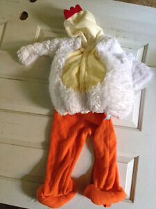 Chicken costume size 2-3 - excellent condition.