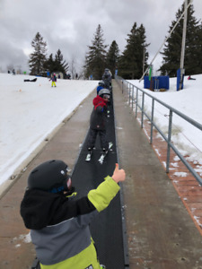 SKI LESSONS FOR ALL AGES!