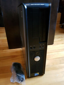 Ordinateur PC Dell Optiplex Dual Core -4Gb DDR3- 250Gb Disque