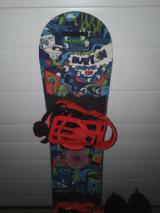Kids Snowboard and Boots/perfect for Christmas.